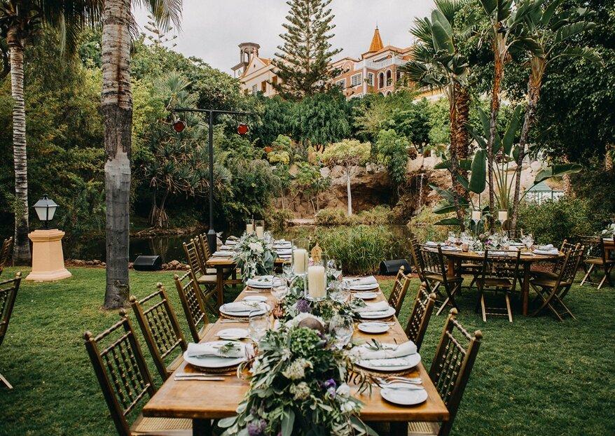 Bahía del Duque: convierte la boda de tus sueños en realidad en una villa canaria a orillas del Atlántico