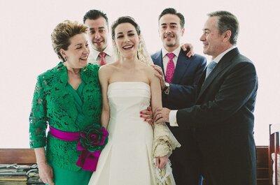 Cómo involucrar a la familia de tu novio en la planeación de la boda