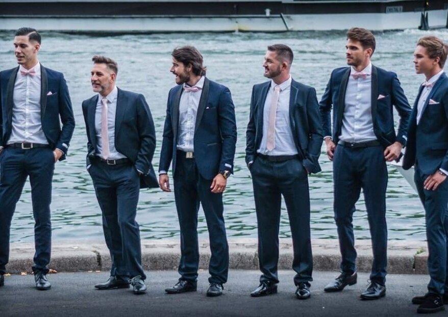 Costumes bien coupés et matières de qualité : misez sur Déclaration Mariage pour votre tenue
