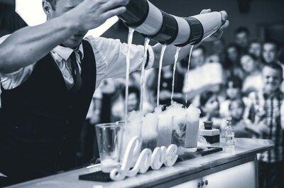 5 powodów, dla których warto mieć barmana na swoim weselu!