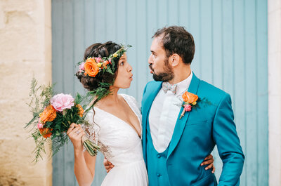 Le mariage aux couleurs indiennes de Lise + Amaury