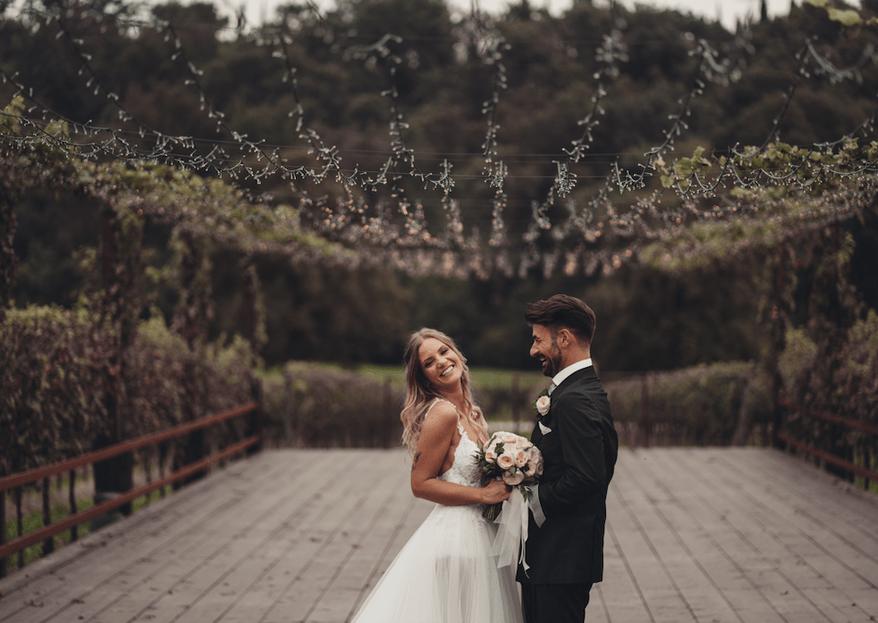 """""""Salvami"""": il racconto fotografico delle nozze di Lara e Peter"""