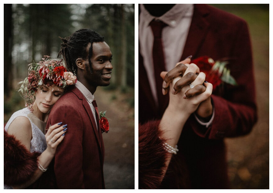 Styled Wedding Shoot: A Touch of Rain
