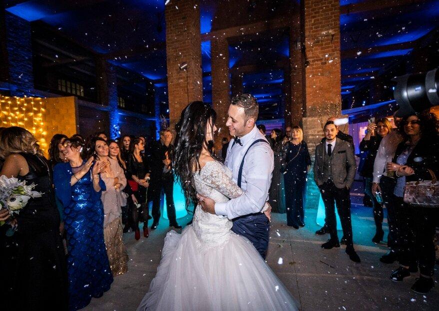 Elisa e Luigi, uno scambio di promesse per la vita nella magia del Natale, con il prezioso sostegno di Vis a Vis Weddevent