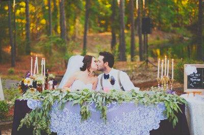 Como decorar a mesa dos noivos: Ideias ORIGINAIS e SURPREENDENTES