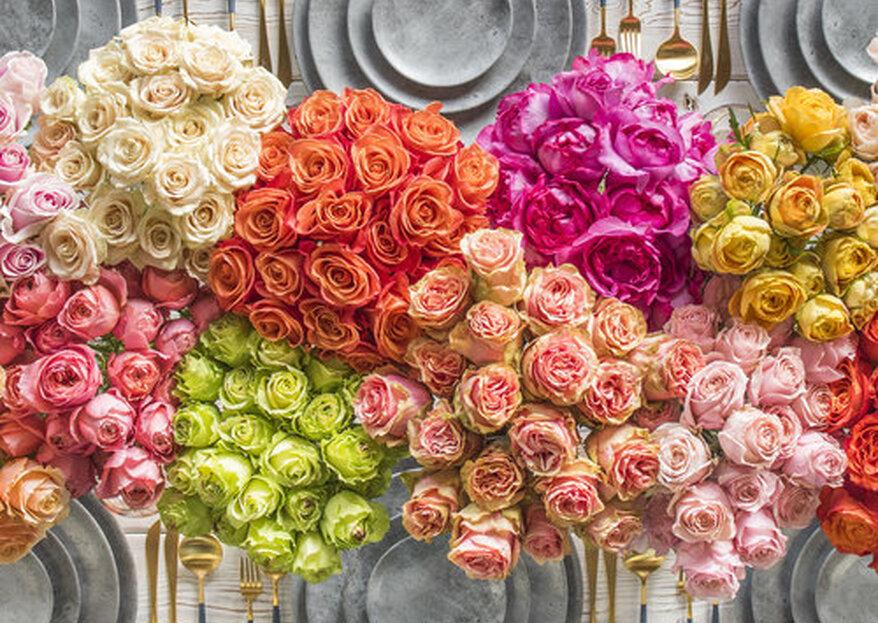 Cómo elegir los colores de la boda: 5 tips efectivos para una decoración con estilo