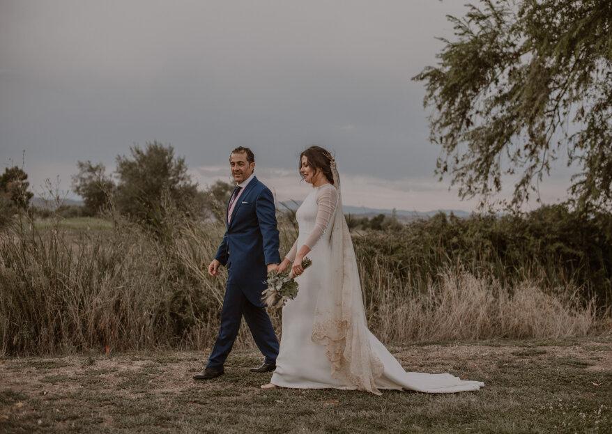 Con la luna llena: la boda de Tania y Nasta
