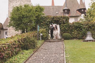 Unvergesslich Heiraten im Berner Oberland: Dieses Brautpaar macht's vor!
