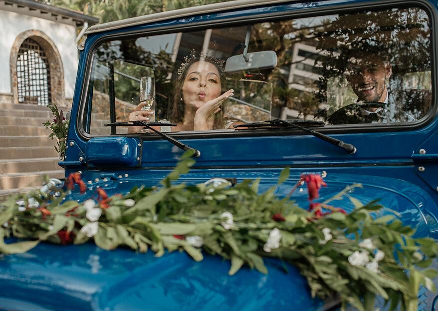 Decoración del carro de los novios: ¡hazla con elegancia y creatividad!