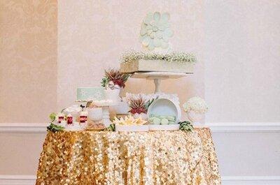 Una boda en dorado: Brillo y glam ¡al instante!