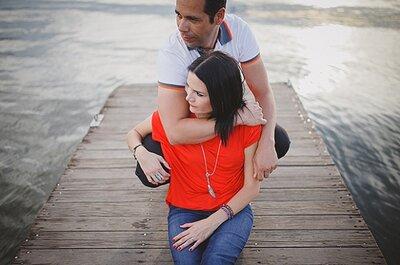 ¿Lista para suspirar? Inspírate en la sesión pre boda de Jessica y Mauricio en el Parque Metropolitano de Guanajuato