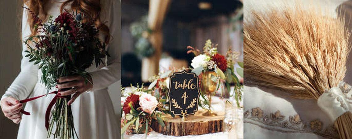 Com muito estilo e bom preço: assim são as flores silvestres em um casamento