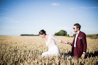 Charlotte + Lucas : un merveilleux mariage dans la ferme familiale, original et plein de tendresse