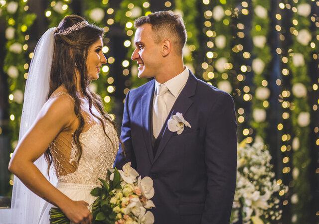Casamento clássico de Luiza e Raphael: porque toda princesa merece um castelo!