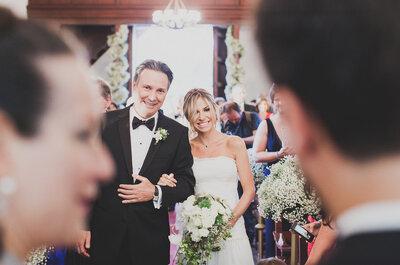 18 razones por las que una novia necesita a su papá el día de su boda