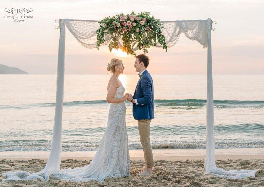 Rossella Celebrini, event planner e designer d'eccezione per le vostre nozze da sogno all'Isola d'Elba e non solo...