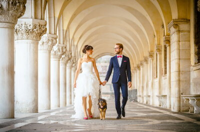Zauberhaftes After-Wedding-Shooting in Venedig – Einmalige Kulisse für Gianna & Lucas