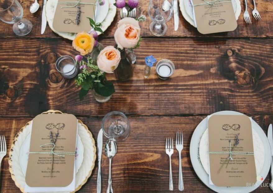 Hoe decoreer je een rustieke bruiloft in 5 stappen. Ontdek de magische trucs!