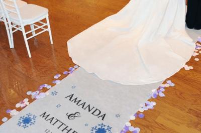 9 ideias para decorar o caminho até o altar