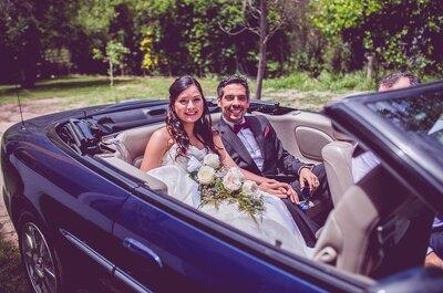 Consejos para elegir el auto de matrimonio. ¡Toma nota!