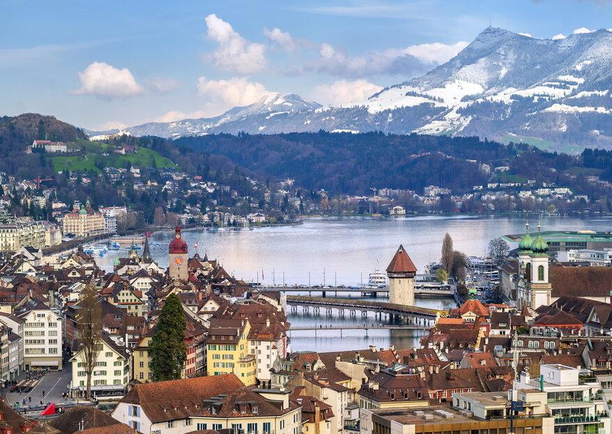 Die besten Hochzeitslocations in Luzern -  Feiern Sie Ihre Traumhochzeit in einer malerischen Traumkulisse