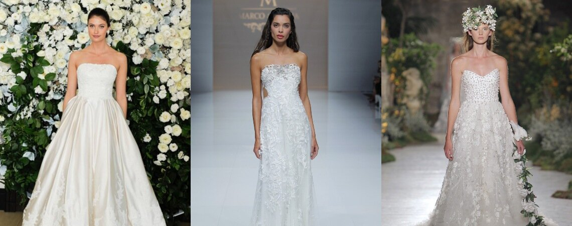 Robes de mariée bustier : un classique qui se renouvelle sans cesse