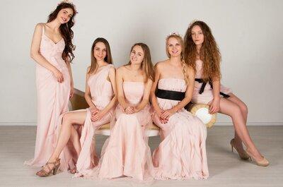 ТОП5: Платья подружек невесты — где купить или взять в аренду в Москве?