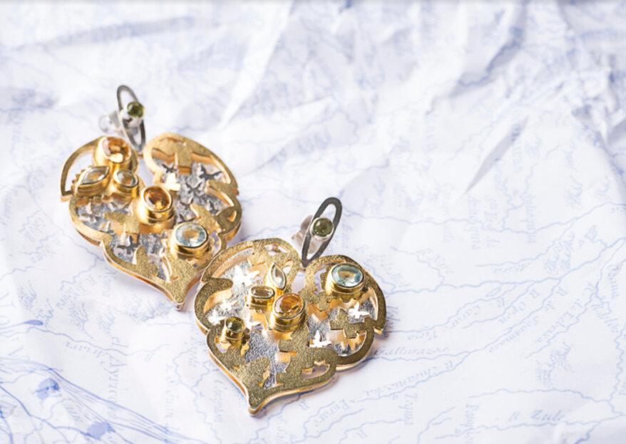 Cierra tu look de boda con las joyas de autor de Laura Metke