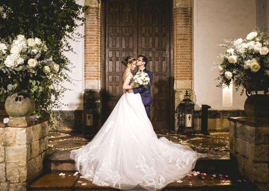 Conserva cada sentimiento de tu boda a través del lente mágico de Laura Mendoza & Alejo Báez