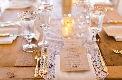 Detalles que te harán sentir el toque mágico de Francia: Ornamentos de ensueño para tu boda