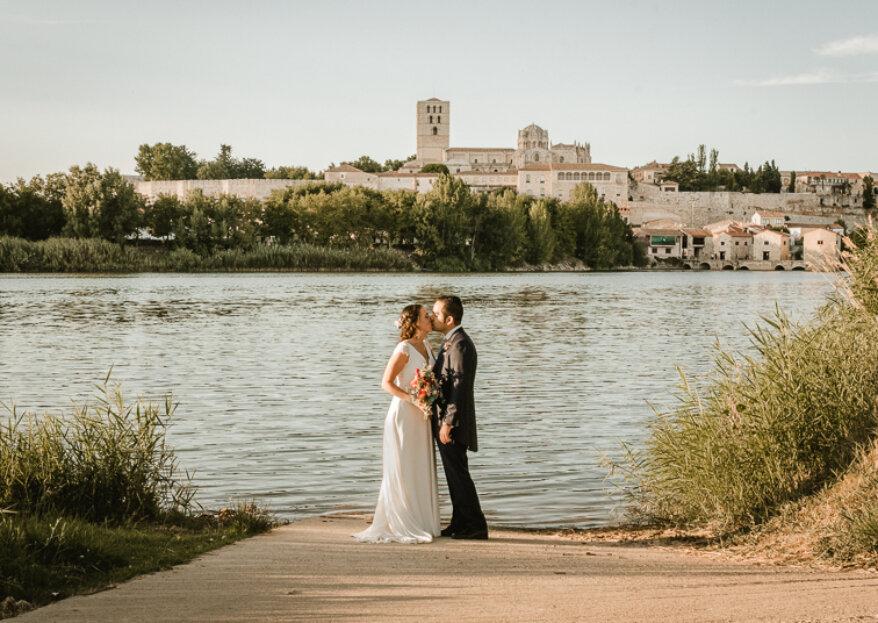 Comiéndote a besos: la boda de Álvaro y Soraya