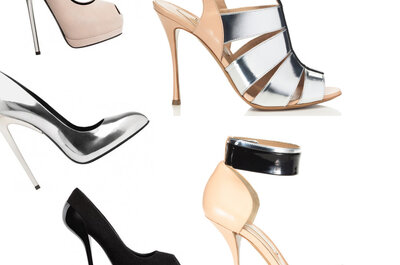 Tendencias en zapatos de novia 2013