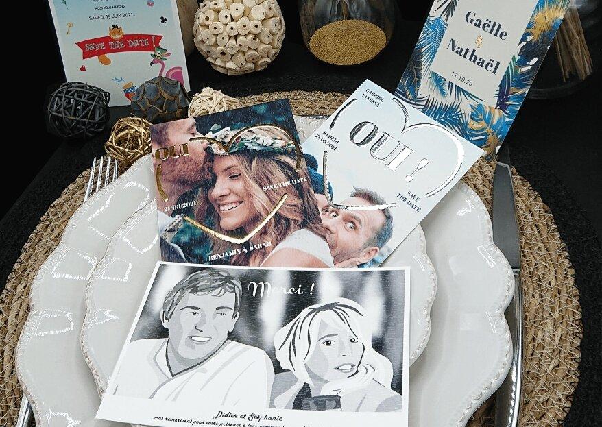 M comme Wedding : annoncez votre grande nouvelle avec un faire-part éco-créatif !