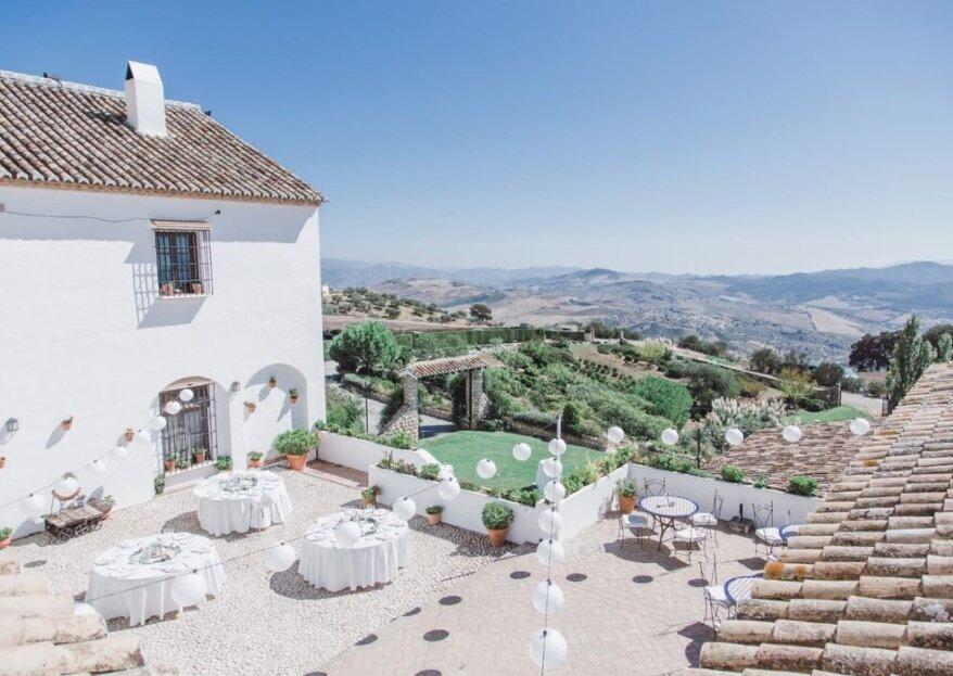 Hotel Fuente del Sol: un soplo de vida que engrandece bodas en plena naturaleza
