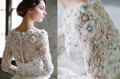 Descubra os detalhes  que não podem faltar no seu vestido de noiva em 2015