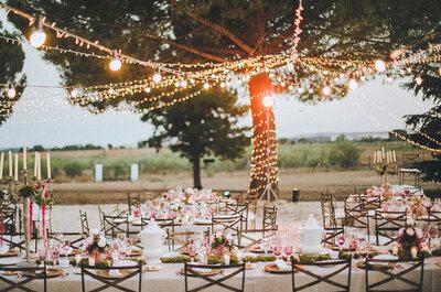Focos pequeños para decorar tu boda e iluminarla: Los mejores tips para usarlos