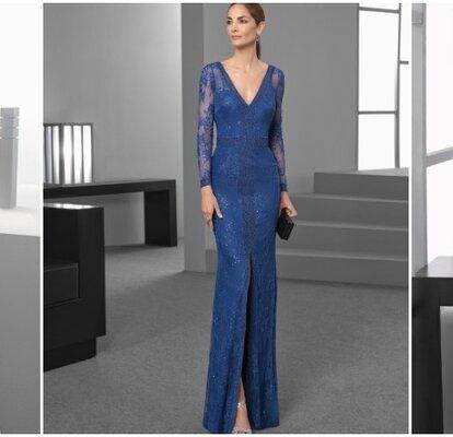 e11055855a Así lucen los vestidos de fiesta Rosa Clará 2017  ¡Increíbles creaciones!