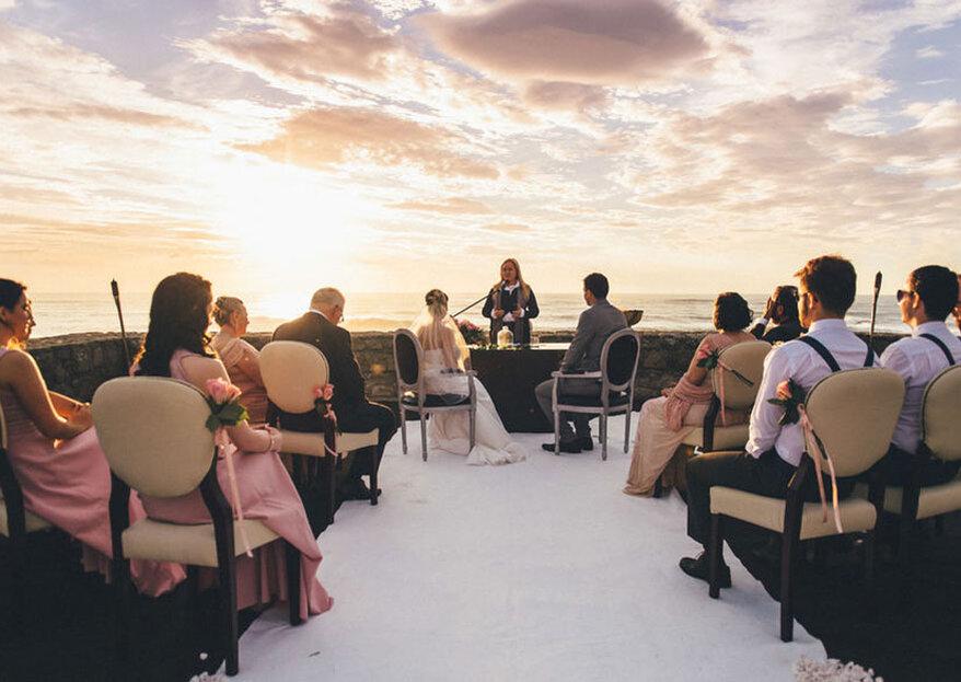 Pôr-do-sol, estrelas e luar: a checklist para ter um casamento livre, leve e solto!