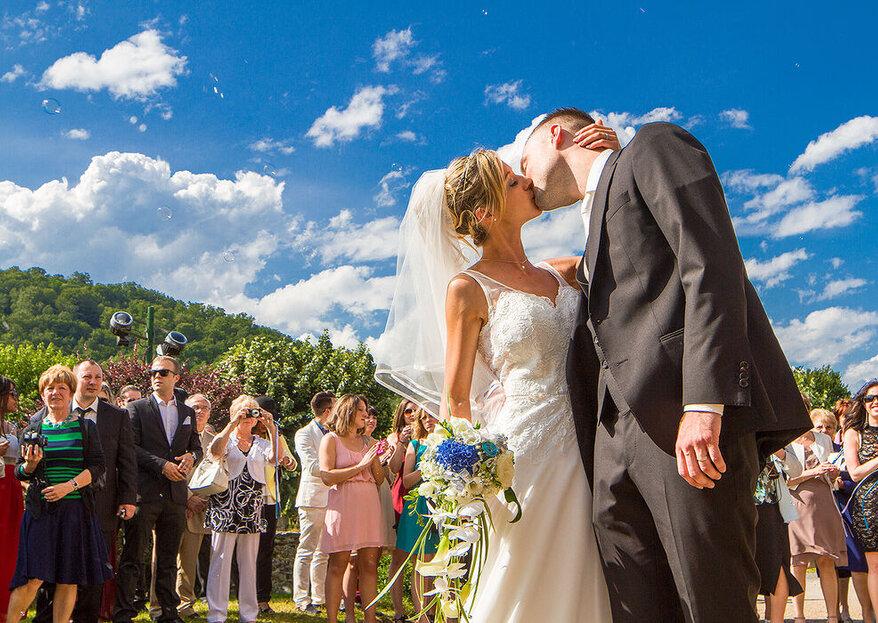 5 superbes photos de mariage pour vous laisser des souvenirs impérissables !