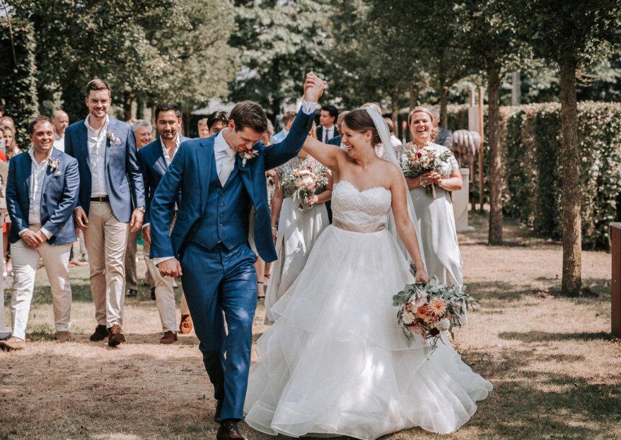 De Colorful Summer Chique bruiloft van Thijs en Bibi!