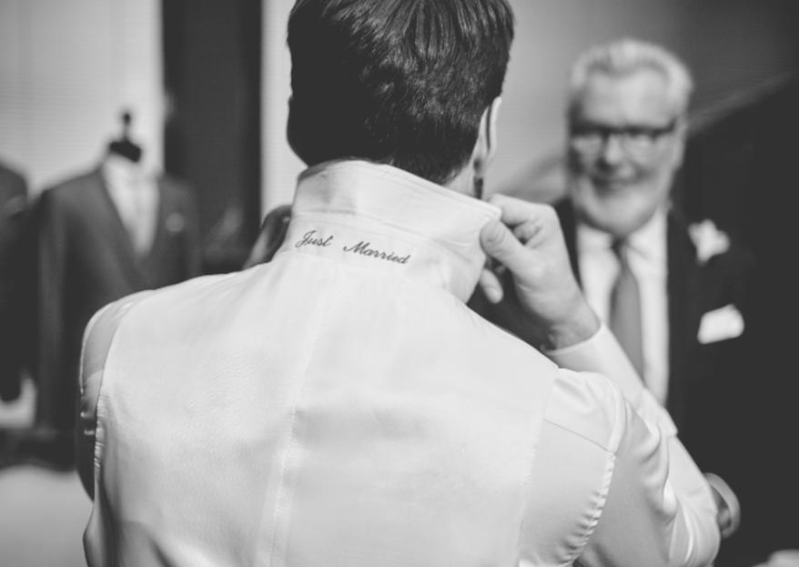 Der Hochzeitsanzug ist das Herzstück Ihres Auftritts an diesem wichtigen Tag
