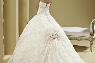 Suknia ślubna księżniczki: klasyka czy glamour?