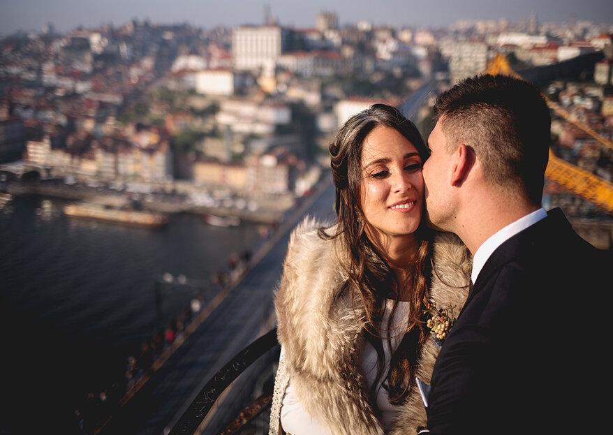 Casamento adiado para o Outono ou Inverno? Temos a fonte inesgotável de esperança para todas estas noivas!