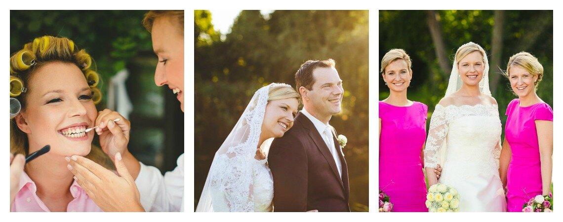 Hochzeitsplanung, Brautstyling, Ja-Wort