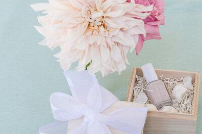 40 regalos originales para los invitados de la boda: ¡Sorprende a todos!