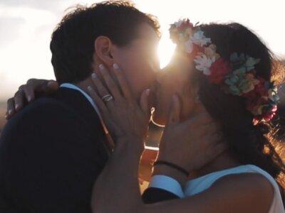 El amor a fuego lento de La Mancha: la boda de Marisa y Jero