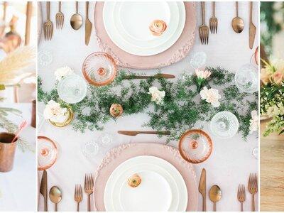 Deko für die Traumhochzeit – Diese Tischmitten sind einfach wunderschön