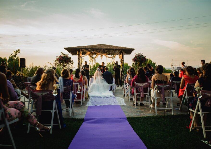 Vive el día de tu boda en un lugar mágico, con increíbles vistas y los mejores profesionales en Gurugú