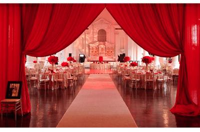Una boda en color rojo inspirada en San Valentín