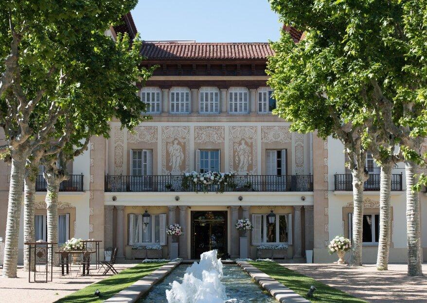 Finca Mas Solers: celebra tu enlace en un palacete catalán del siglo XIX